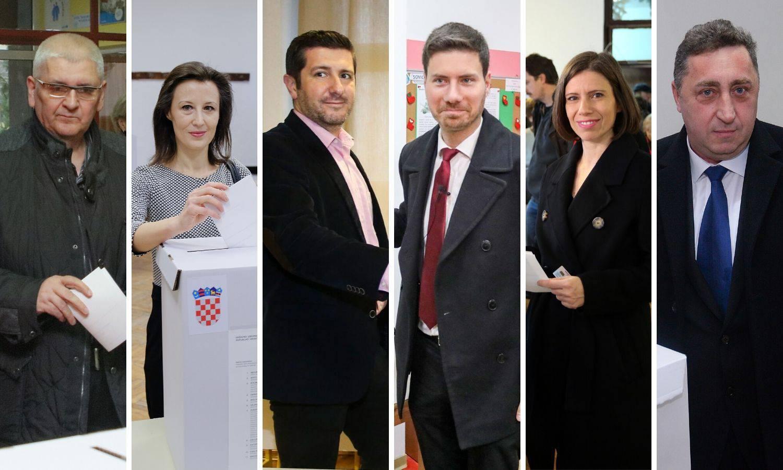 Đapić i Babić zajedno daleko od 10.000 glasova, Pernar 2,31%