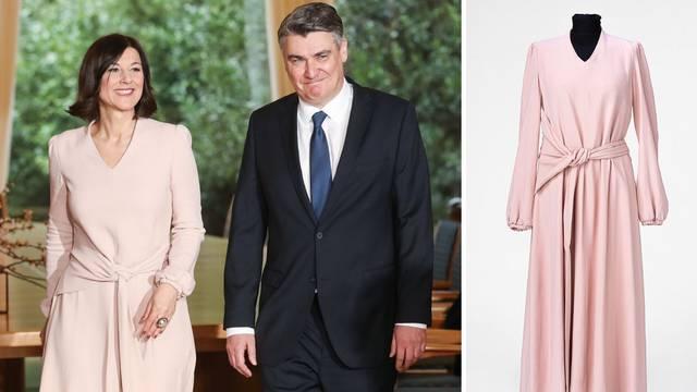 Haljina kakvu je nosila Sanja M. Milanović sada je i u prodaji