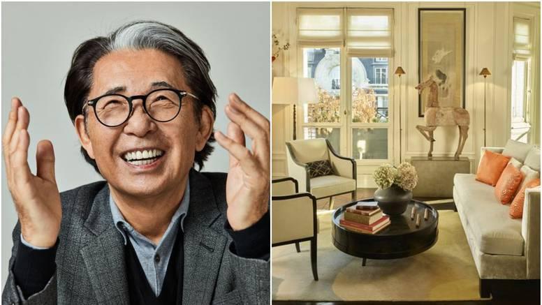 Kolekcija i namještaj japanskog dizajnera Kenza prodani za vrtoglavih 2,5 milijuna eura