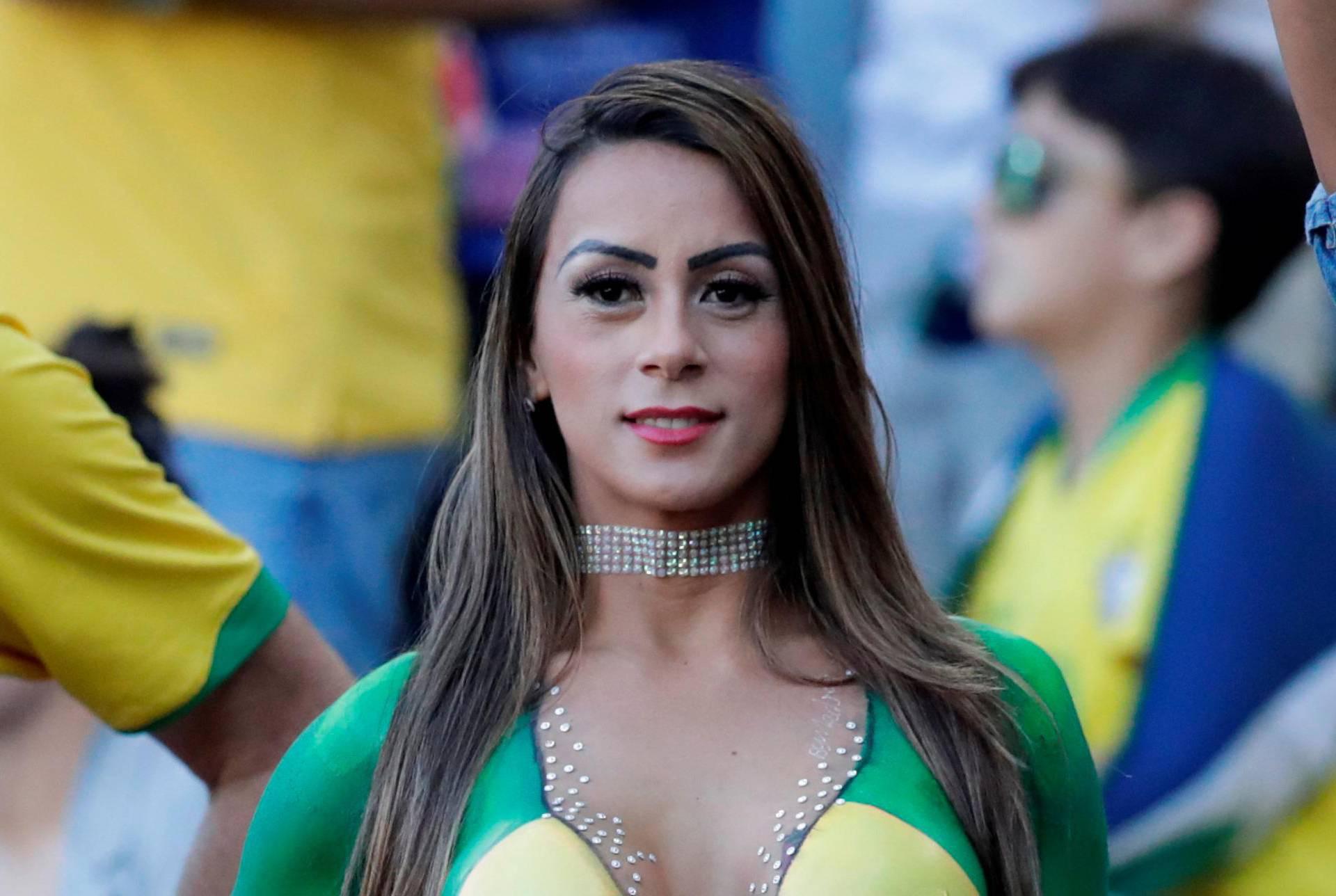 Vruće mi je: Brazilka na finale došla samo s bojom na tijelu...