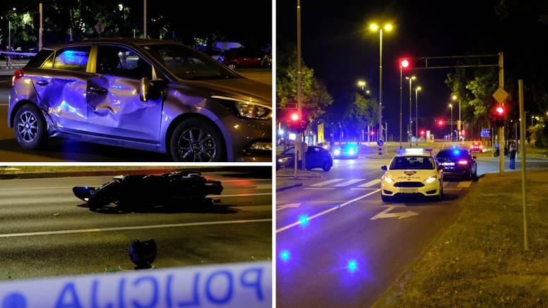 Strašna nesreća u Travnom: Motociklist poginuo u sudaru