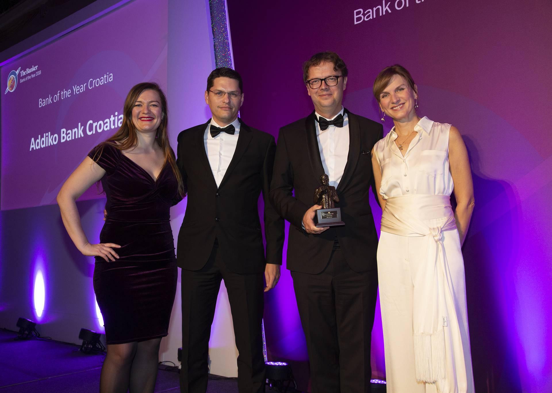 Addiko Bank osvojila prestižnu nagradu za banku godine