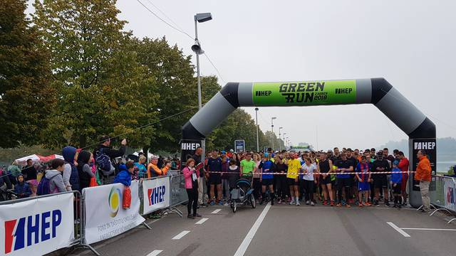 Održana je prva Green Run utrka Powerd by HEP!