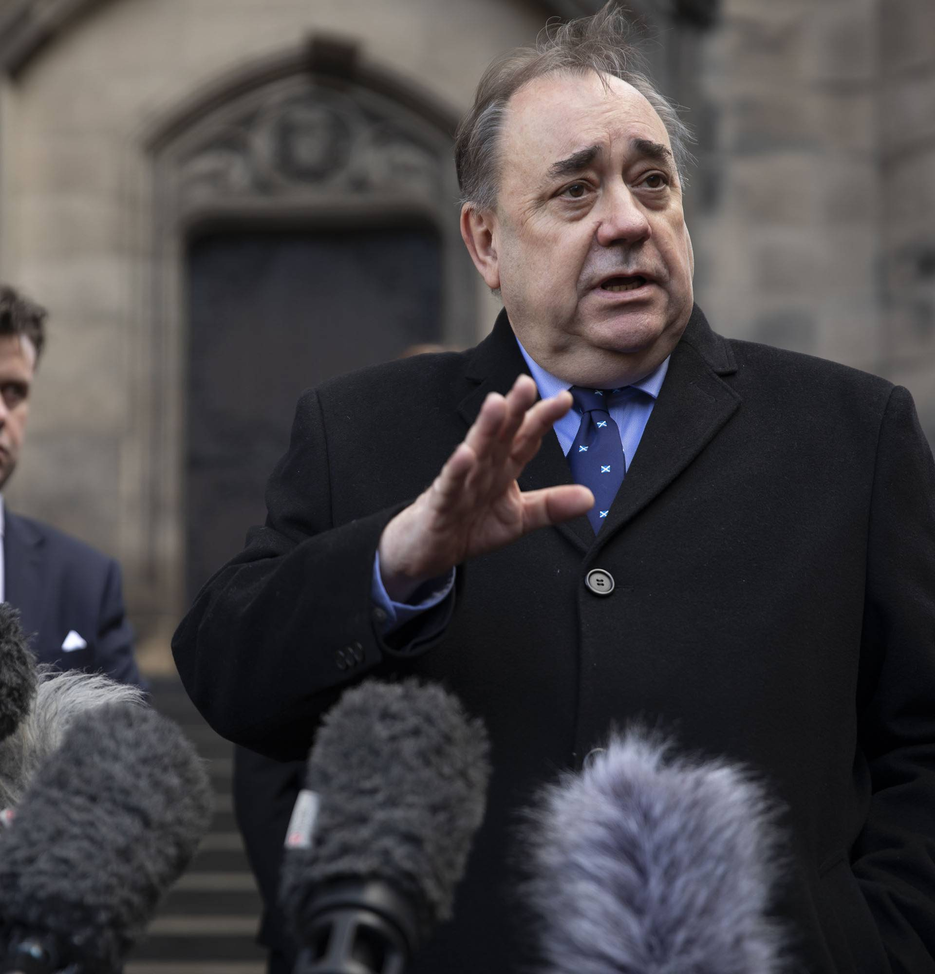 Alex Salmond at Court of Session