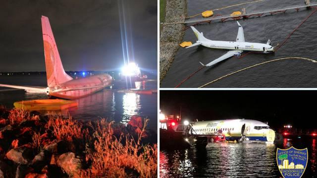 Avion završio u rijeci, ljubimci putnika se utopili u kavezima