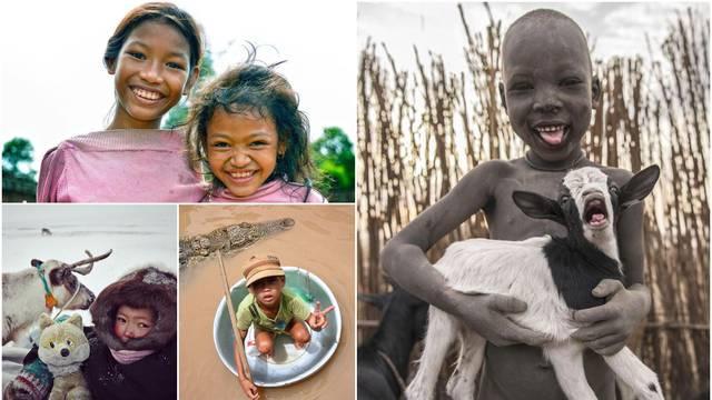 Dječja lica pričaju najbolje priče, a ovako izgledaju njihova djetinjstva po cijelom svijetu