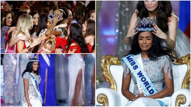 Jamajčanka je Miss svijeta: 'Za djecu i žene ću se uvijek boriti'