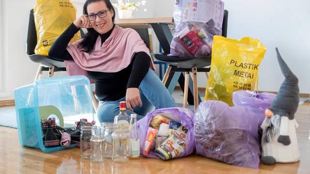 Prosječna obitelj u tjedan dana baci čak šest vreća smeća