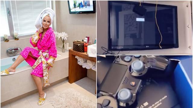 TV u WC-u, Versace na tijelu, a imaju i posebnu igraću konzolu