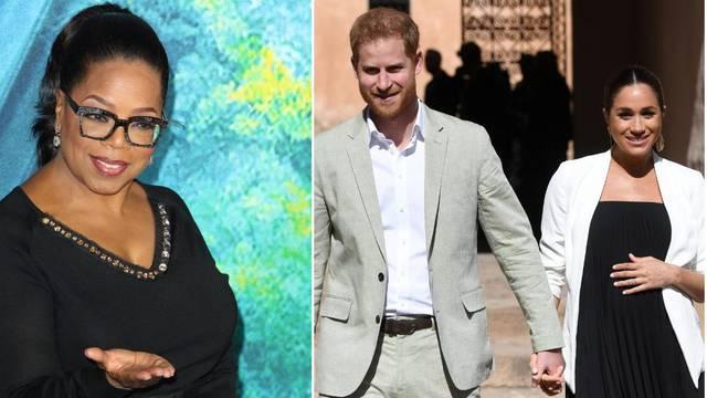 Oprah ima darove za kraljevsku bebu: 'Zatrpat će je knjigama'
