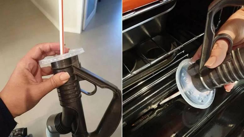 Pronašla način kako lako usisati mrvice koje su se zavukle u kutove pećnice ili u automobilu