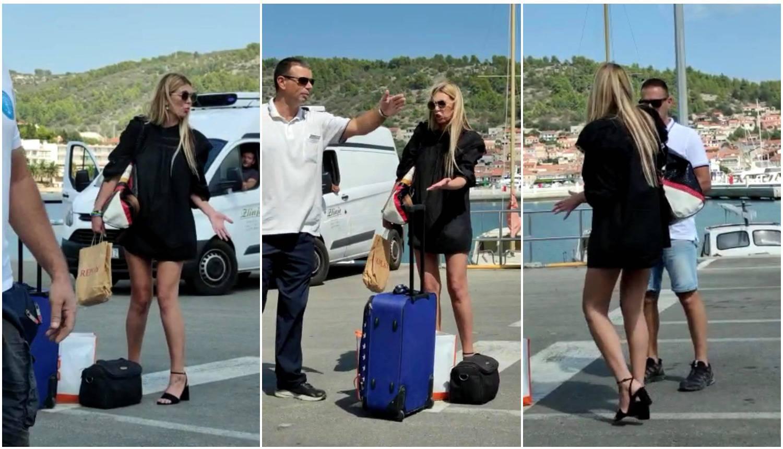 Drama u Veloj Luci: Ava molila da joj nose kofere, odbijali je...