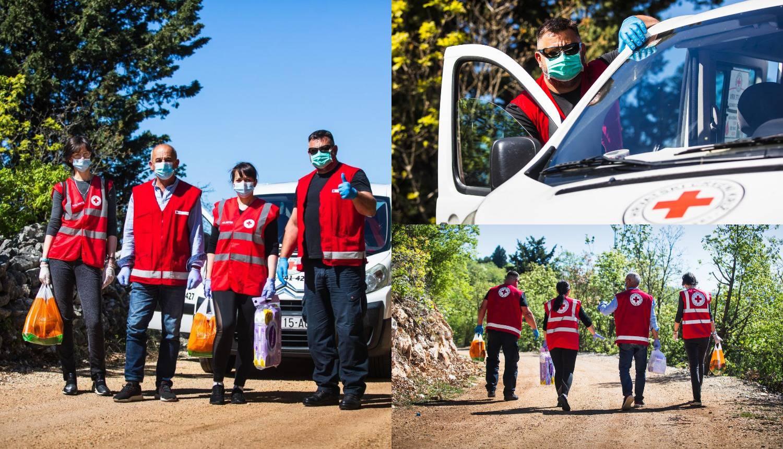 'Naši volonteri idu svaki dan po lijekove i hranu za nemoćne'