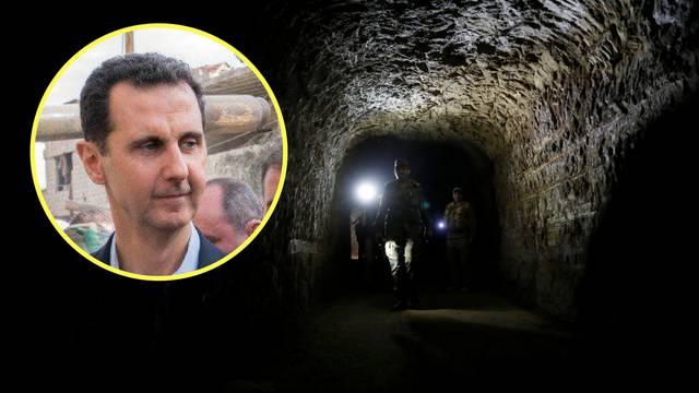 Bez  prozora i telefona: Asada skrivaju u bunkeru ruske baze?