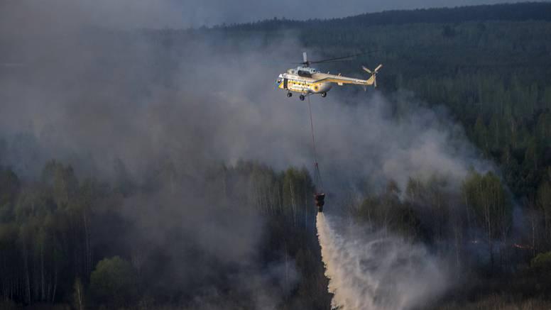 Panika: Šumski požar opasno se približio nuklearki Černobil