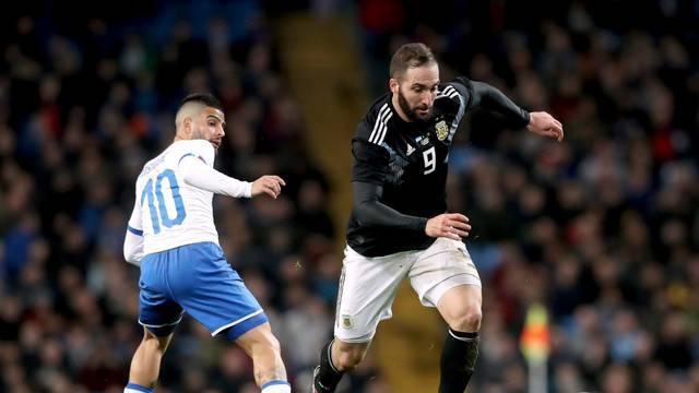 Argentina v Italy - International Friendly - Etihad Stadium