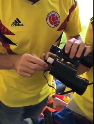 Kolumbijci se snašli: Piće su na stadion 'švercali' u dalekozoru