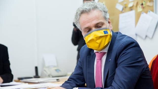 Johann Sattler sastao se s članovima Izborne komisije Grada Mostara