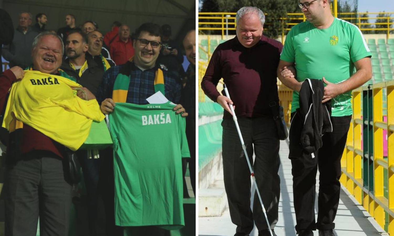 'Slijepom tati prenosim svaku utakmicu NK Istre, sretan je'