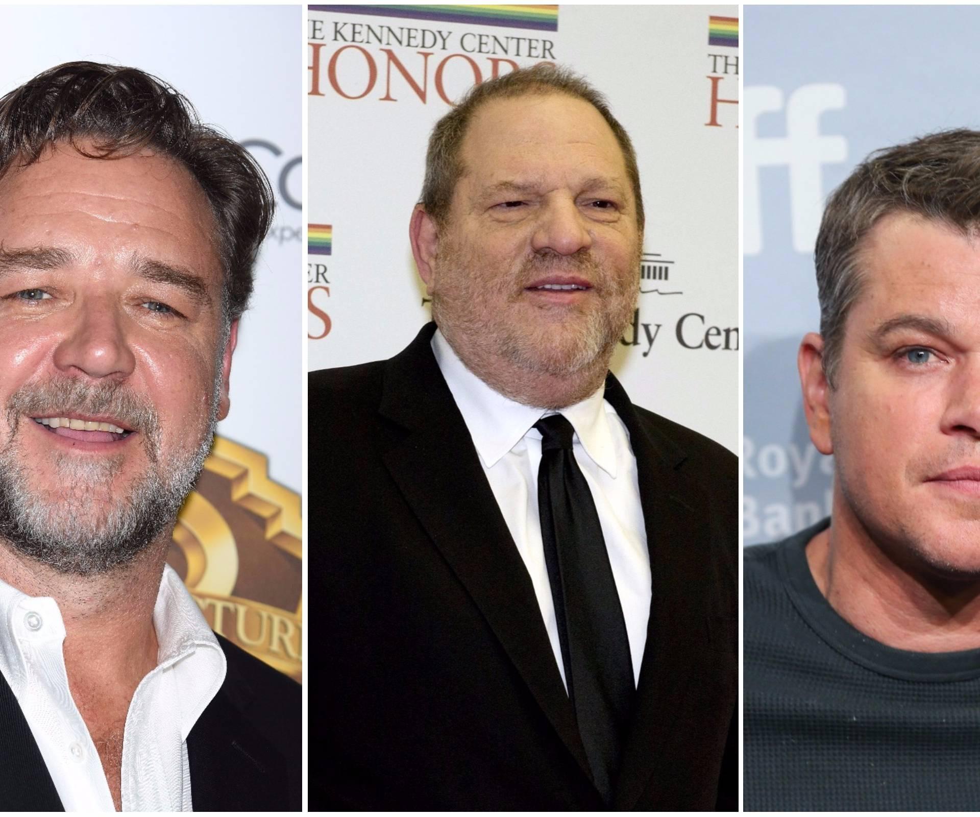 Seksualnog predatora štitili su Matt Damon i Russell Crowe