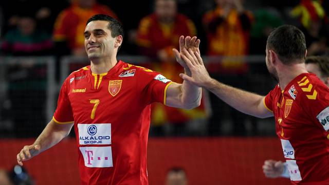 European Handball Championship: Macedonia vs Czech Republic