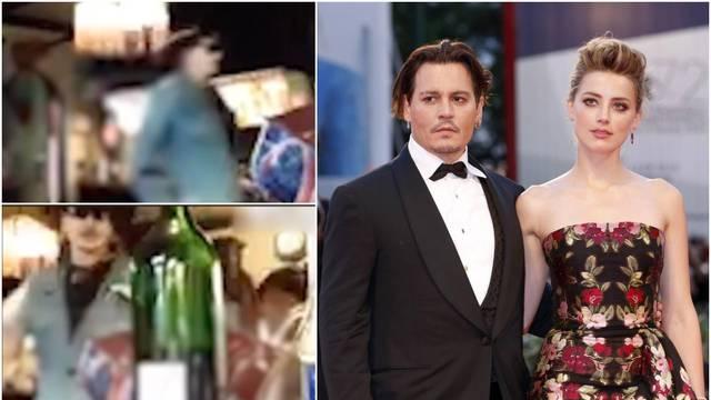 Pijani Depp podivljao i razbijao po stanu: 'Lud!? Sad ćeš vidjeti'