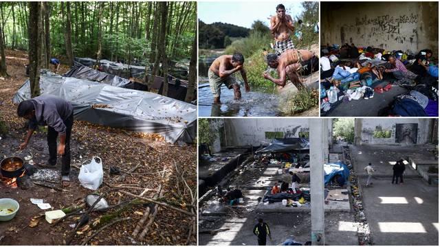 Snašli se sami: Migranti kod Velike Kladuše formirali novi kamp, lokalcima ne smetaju