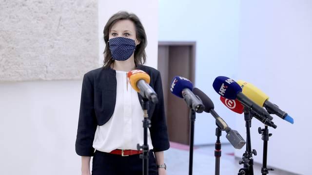 Dalija Orešković komentirala događanja u sabornici