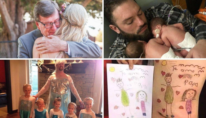 Očevi za 10! Njihova ljubav je beskrajna - pogledajte fotke