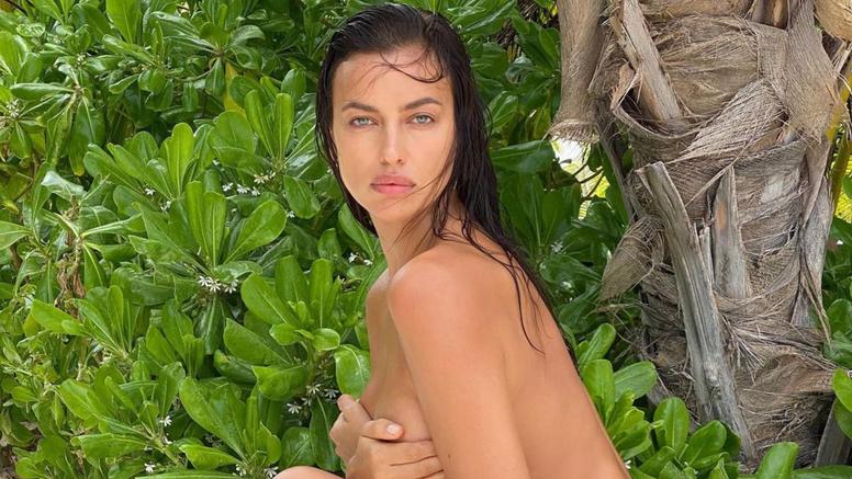 Dok se Kanye bori s razvodom, Irina pozira u toplesu i tangama