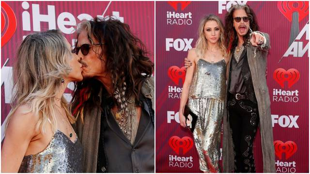 Steven Tyler (70) i Aimee (30) ljubakaju se kao napaljeni klinci