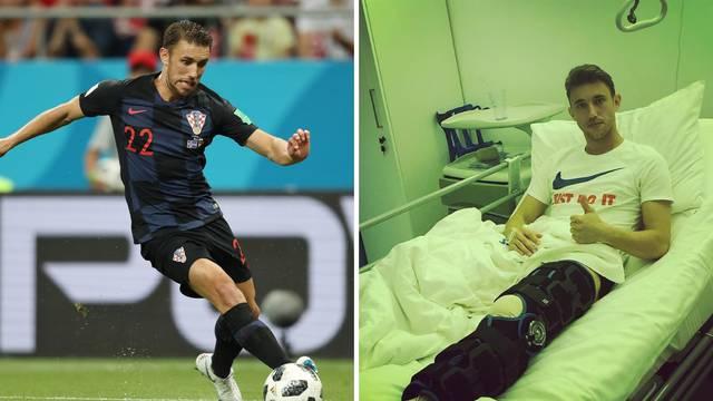 Pivarić operirao koljeno: Prvi dan odrađen, hvala puno svima