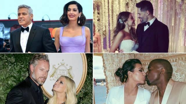 Vjenčanja za pamćenje: Ovi su parovi imali malo duže slavlje