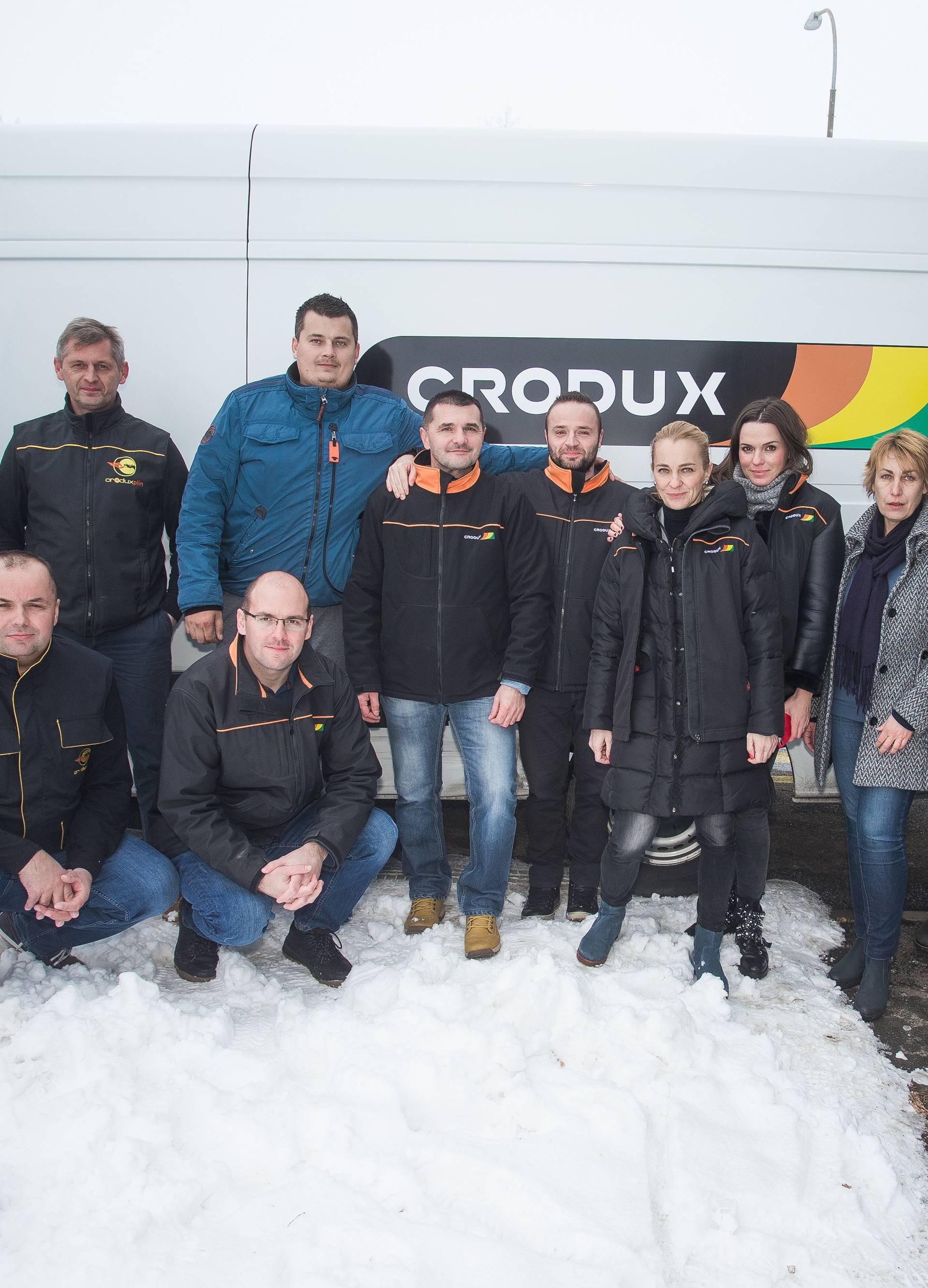 Djelatnici Croduxa za građane Vukovara u potrebi