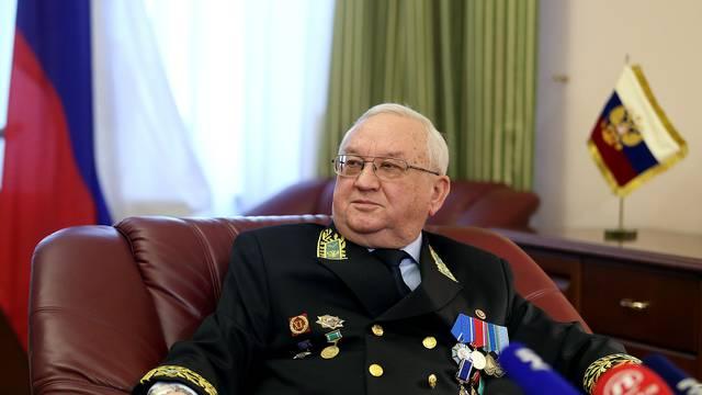 Plenković je objasnio zašto je ruski veleposlanik bio u Vladi