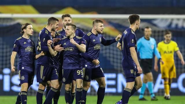 Uzvratna utakmica osmine finala Europske nogometne lige: GNK Dinamo Zagreb -  Tottenham Hotspur