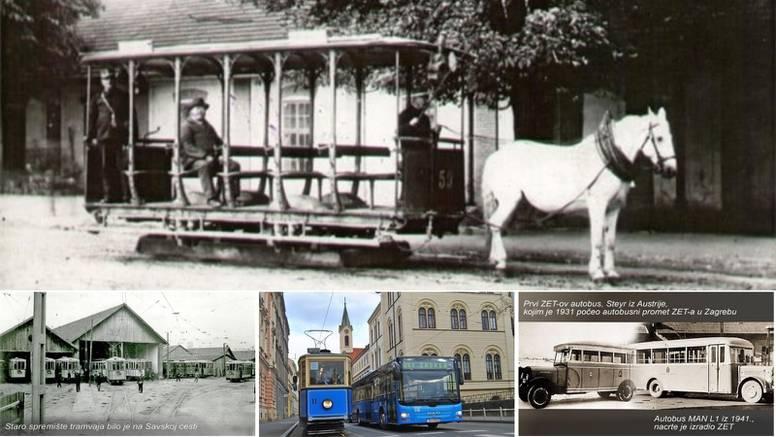 ZET obilježava 130. godišnjicu: Sve je počelo s konjem Belkom