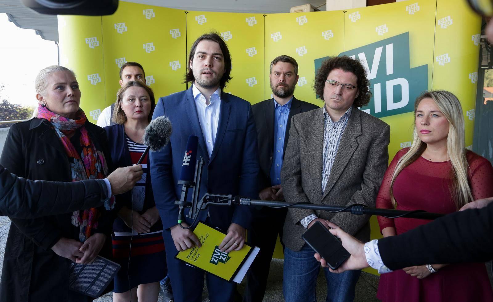 Zagreb: Konferencija za medije Živog zida o stanju u javnom zdravstvu