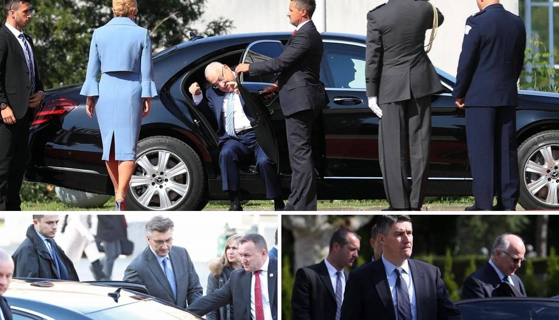 Plenković i Milanović dobili su blindirana vozila nakon napada