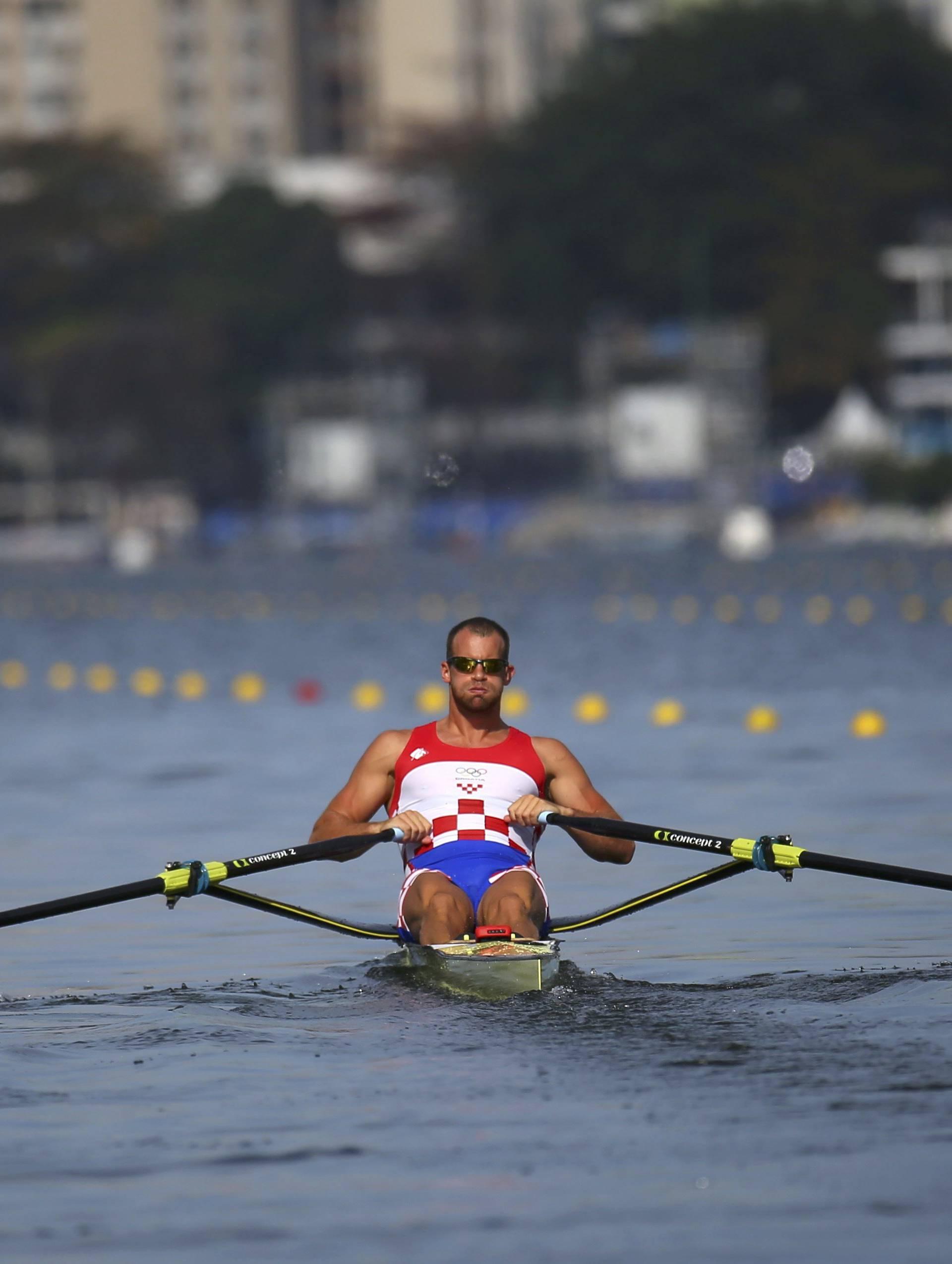 Rowing - Men's Single Sculls Heats