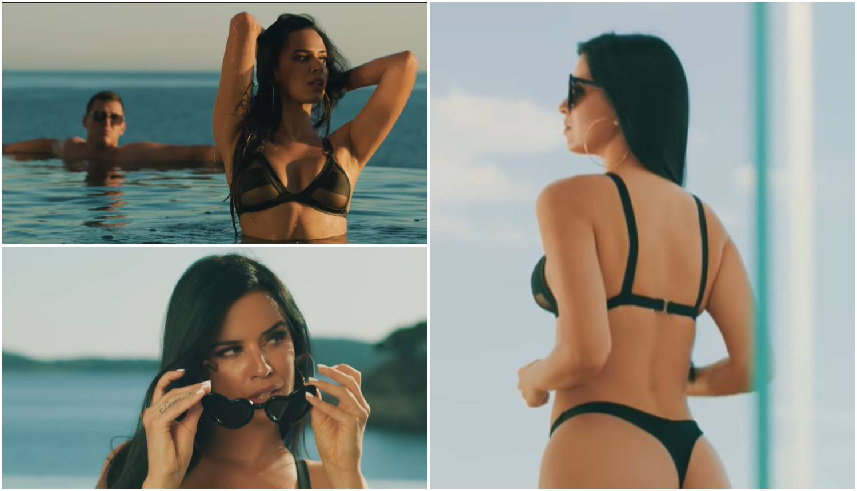 Knöllse izvijala u spotu 'Zvezde Granda': Pokazala je obline u bikiniju, snimali u luksuznoj vili