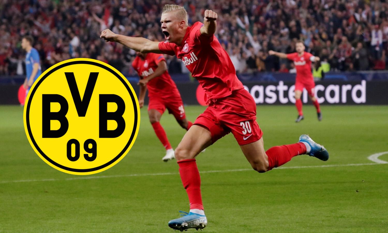 Haaland je stigao u Dortmund: Salzburg će dobiti samo 'siću'