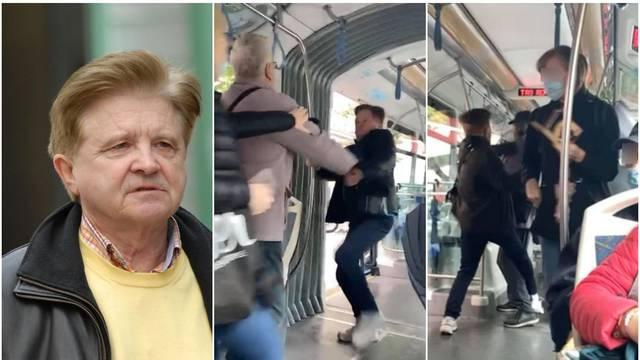 Kumpića iz Smogovaca je napao čovjek u tramvaju zbog maske