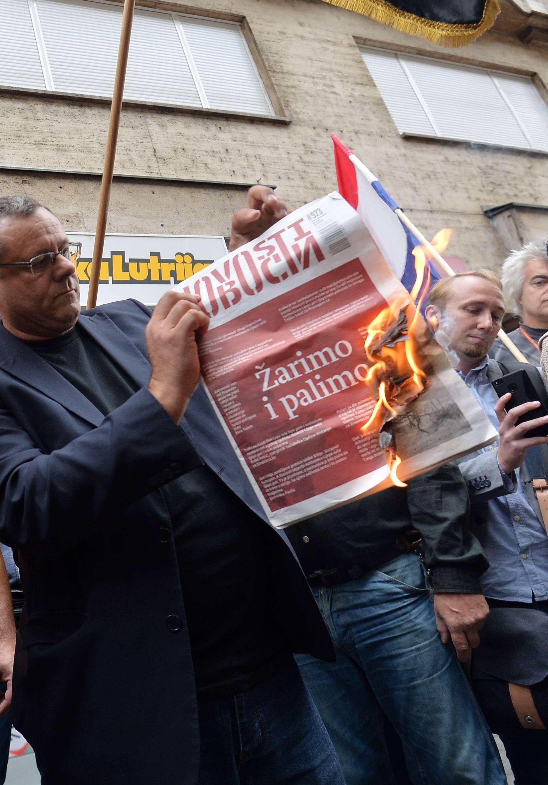 'Neka se Plenković izjasni o paljenju Novosti i prijetnjama'