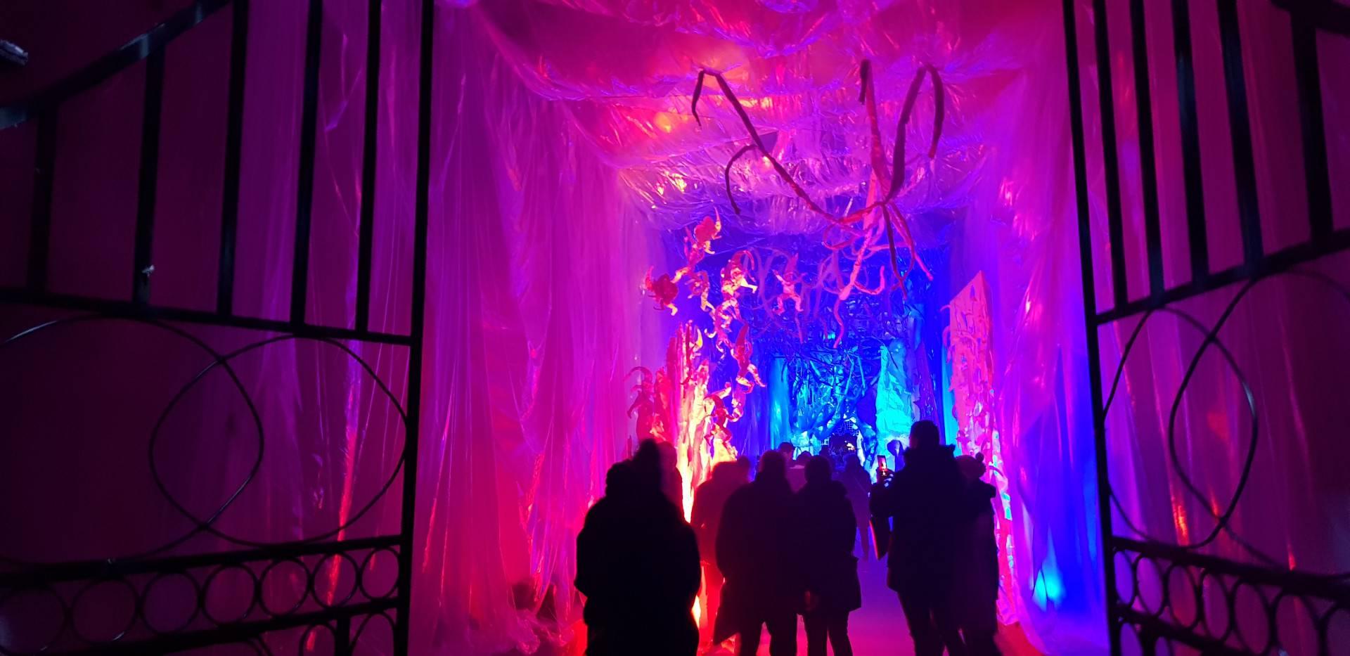 Božićna bajka u Zagrebu: Tunel Grič pretvoren u ledeni dvorac