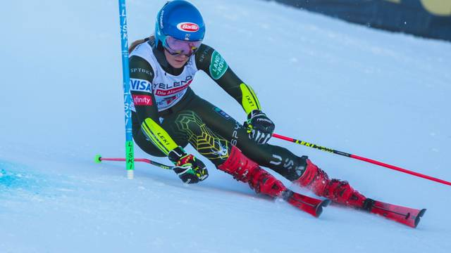 Ski SKI World Cup - Giant Slalom Women