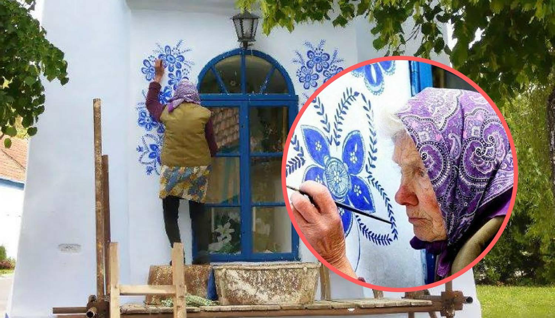 Ne staje ni u 90-oj: Bakica iz Češke na skelama slika kuće