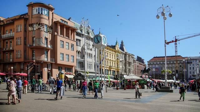 Zagreb: Sunčano poslijepodne u središtu grada