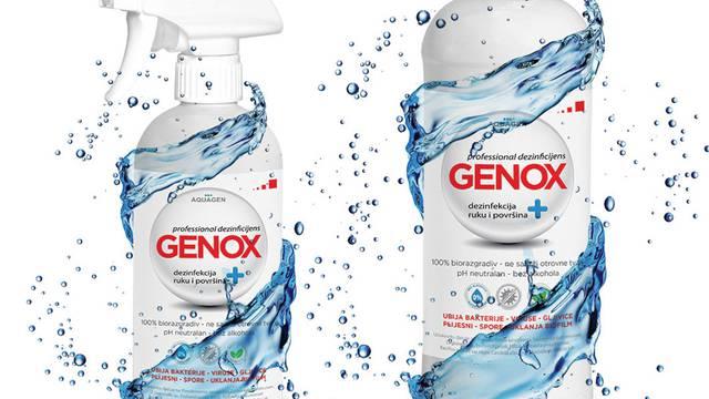 Čitateljima na dar uz novine ide Genox dezinfekcijski rupčić