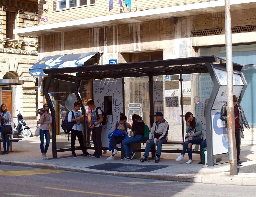 Riječani dobili prve pametne stanice za autobus u Hrvatskoj